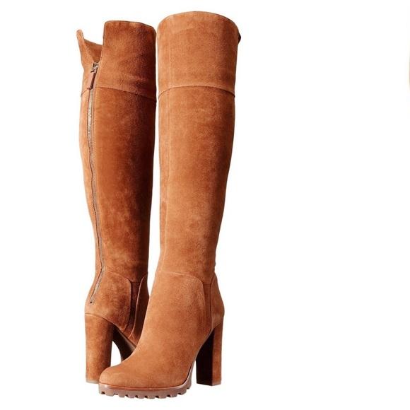 Aldo Sambuca Suede Over The Knee Boots